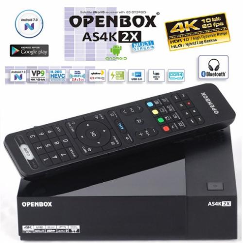 Спутниковый ресивер Openbox AS4K 2X