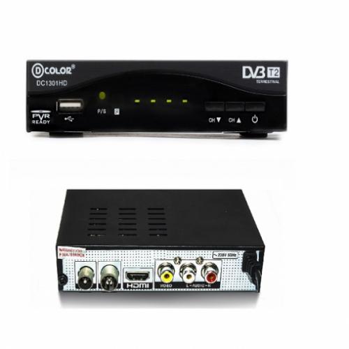 Приемник для цифрового ТВ DColor DC1301HD