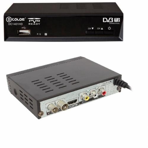 Приемник для цифрового ТВ DColor DC1401HD